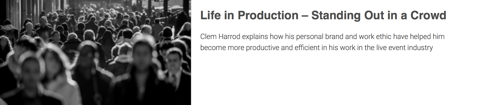 ClemCo AV life-production-standing-crowd/